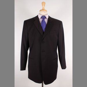 Armani Collezioni 44R Brown Sport Coat B830